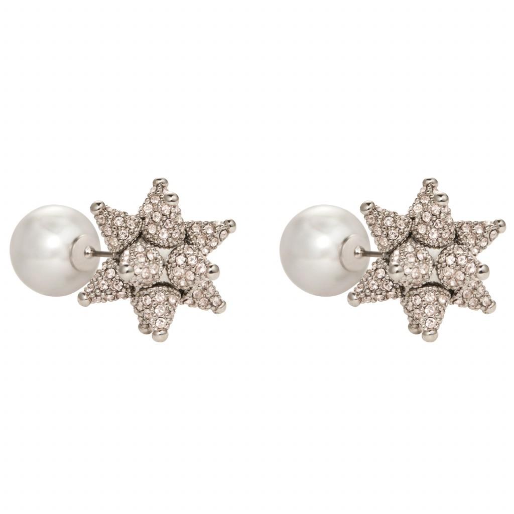 Silk Kalix Stud Earrings by Atelier Swarovski