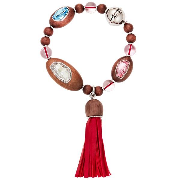 Rose Tassel Bracelet