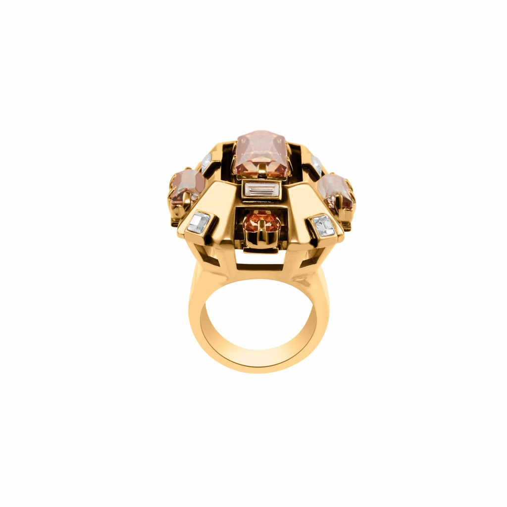 Cristaux Déco Cocktail Ring