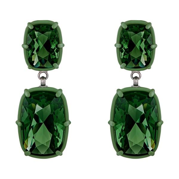 Jewel-y Drop Pierced Earrings
