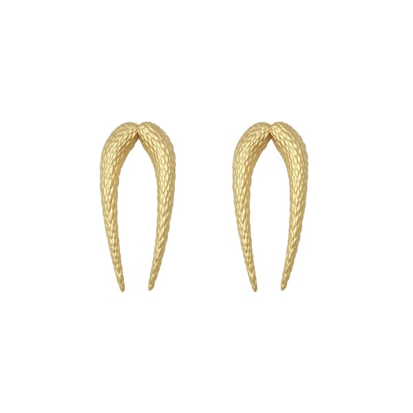 Echoes of The Lyre Earrings in Gold by NIOMO