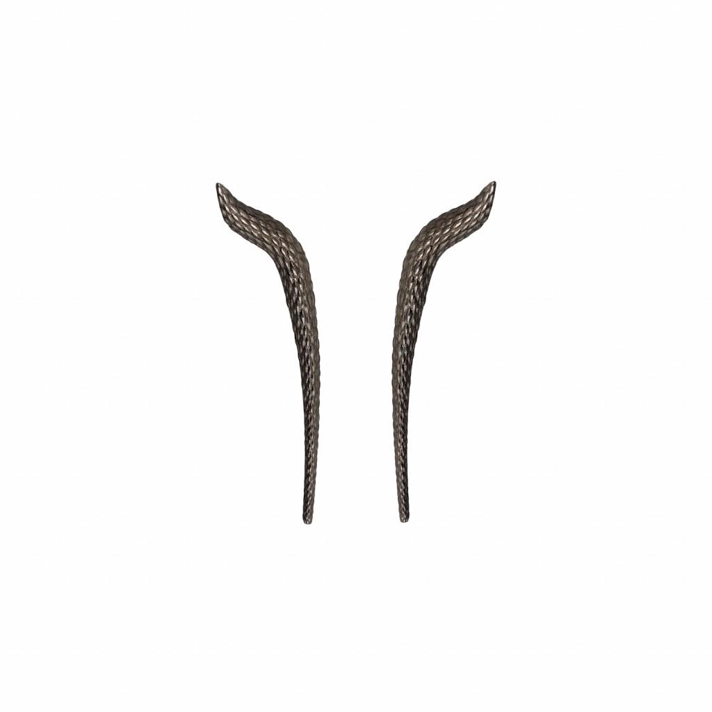 Elysia Earrings in Black
