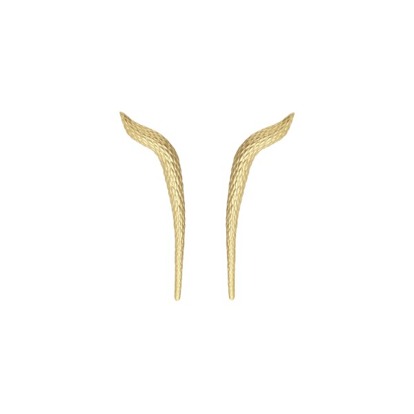 Elysia Earrings in Gold by NIOMO