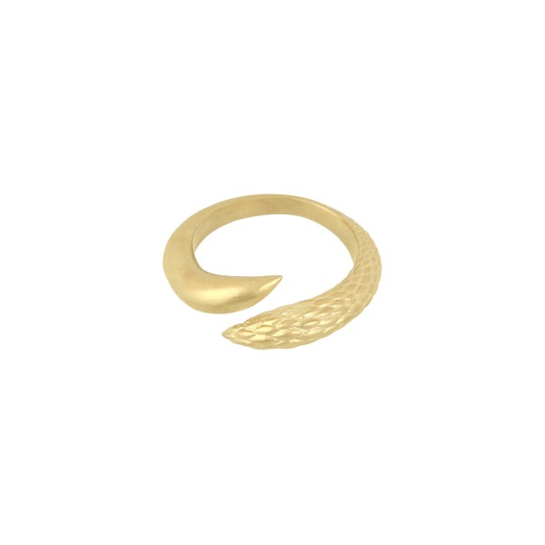 Orpheus & Eurydice Ring in Gold by NIOMO