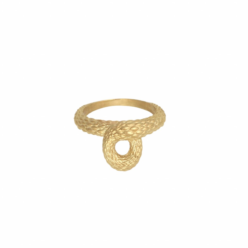 Twisted Tales Ring in Gold by NIOMO