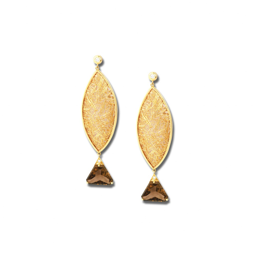 Fish of Gold Earrings by Anastazio