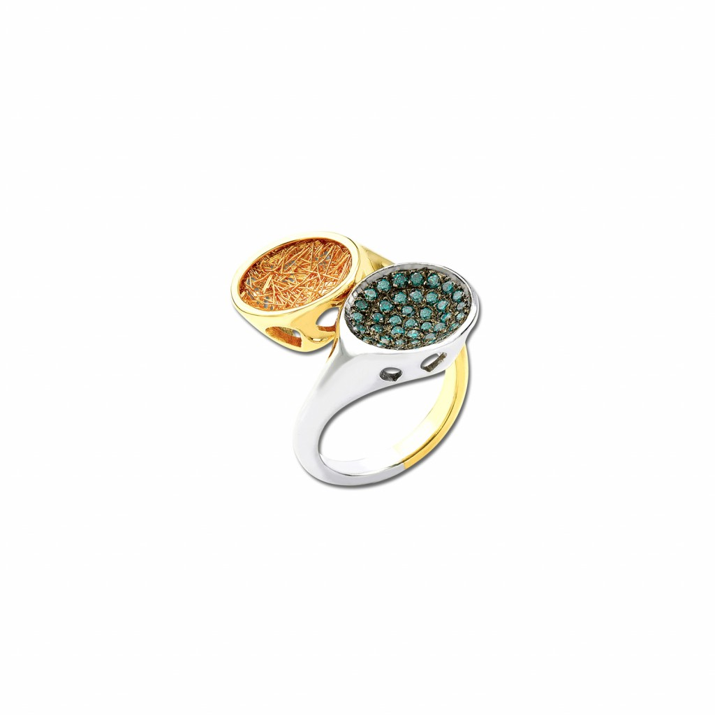 Sun in Moonlight Ring by Anastazio