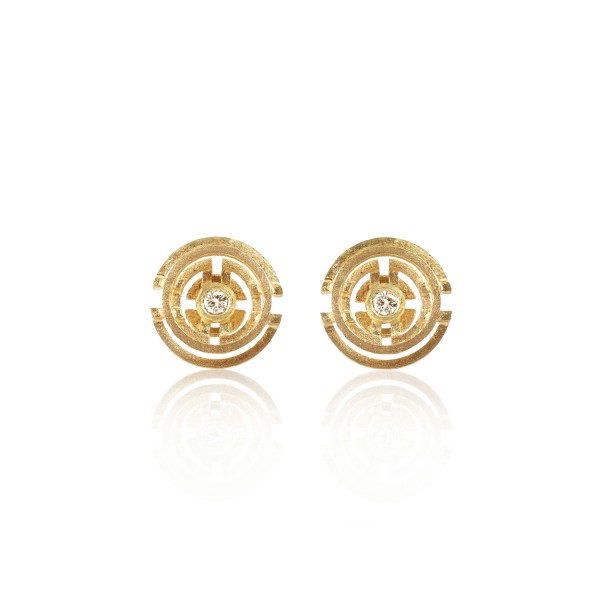 Five Circle Earrings by Shimell & Madden