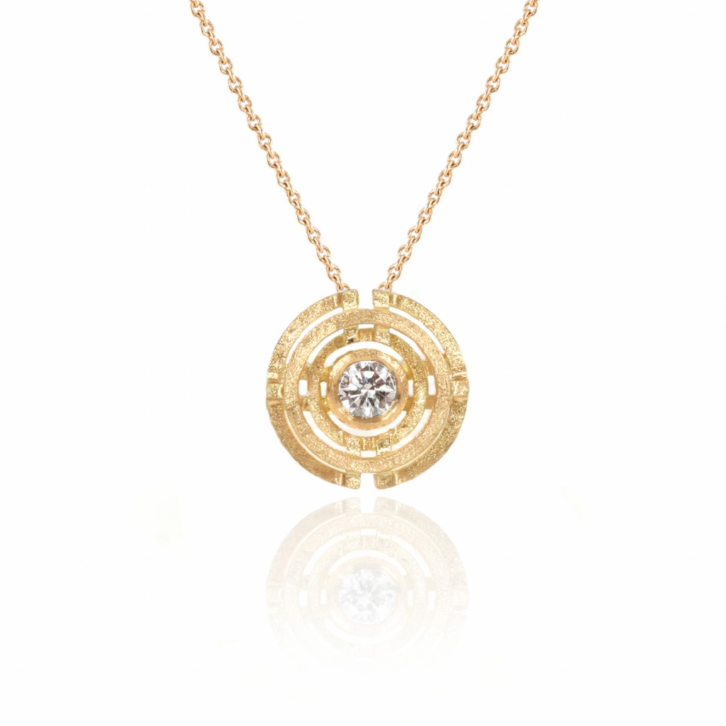 Four Circle Pendant by Shimell & Madden