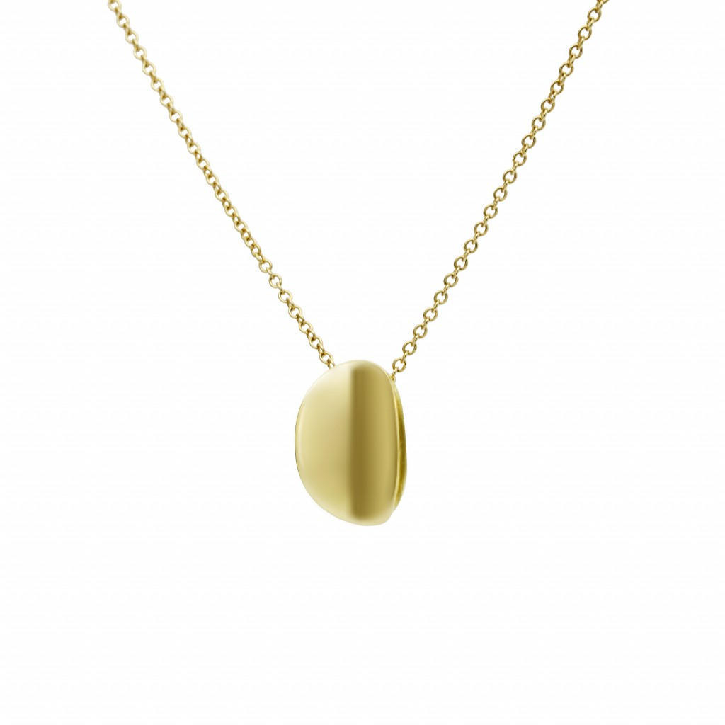 Pure Ellipse Pendant by Daou Jewellery