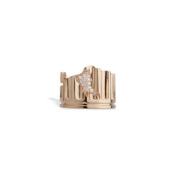 Column Fragment Ring by Completedworks