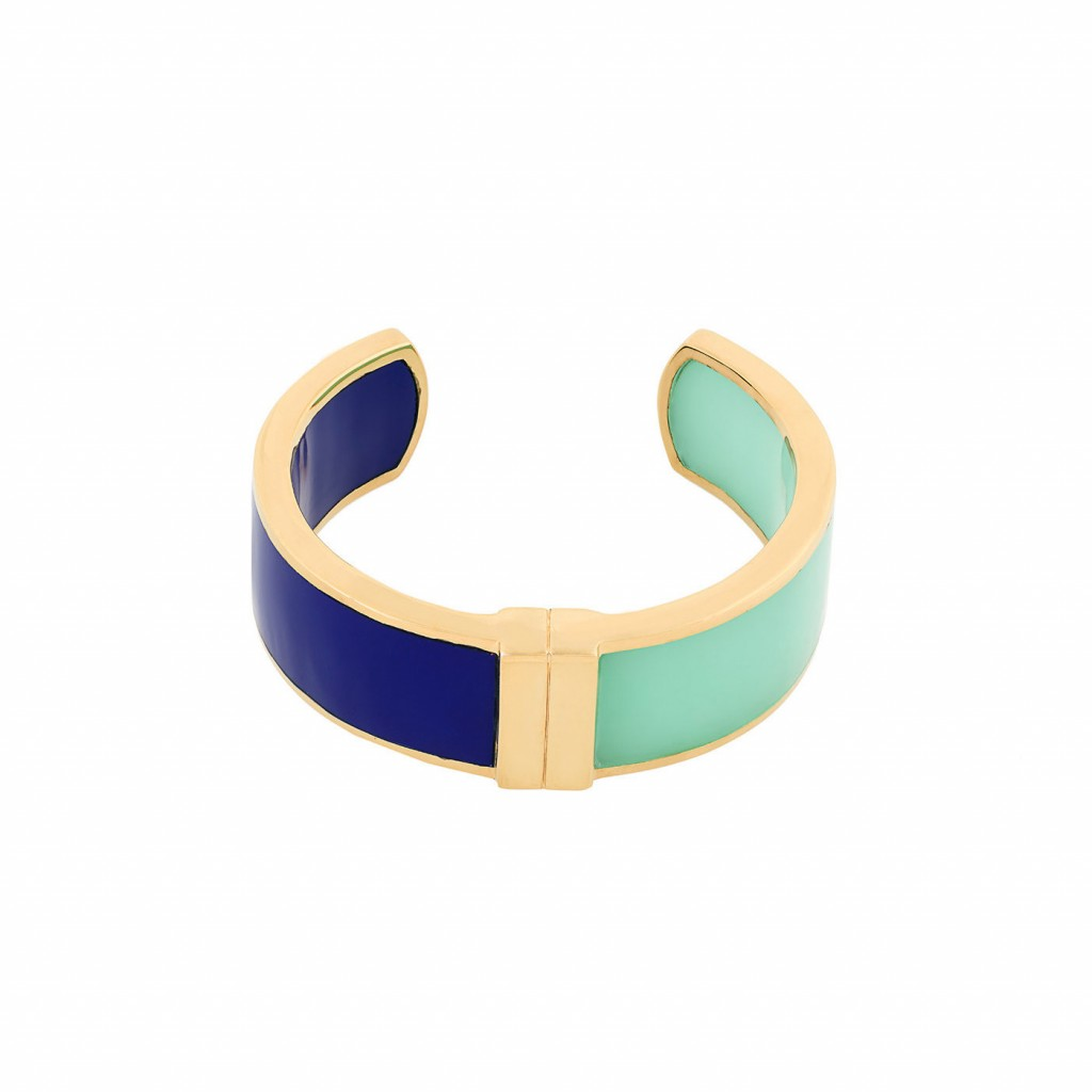 Andromeda Cuff in Lapis & Aqua by Bex Rox
