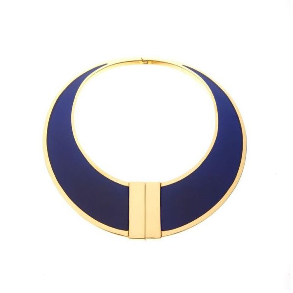 Asterix Collar in Lapis by Bex Rox