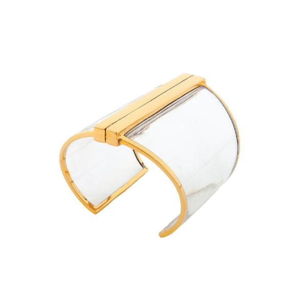 Barbarella Cuff in Clear by Bex Rox