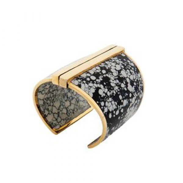 Barbarella Cuff in Marble by Bex Rox