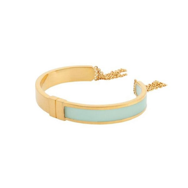 Celeste Friendships Bracelet in Aqua by Bex Rox