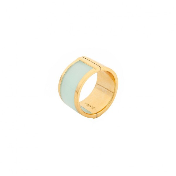 Large Celeste Ring in Aqua