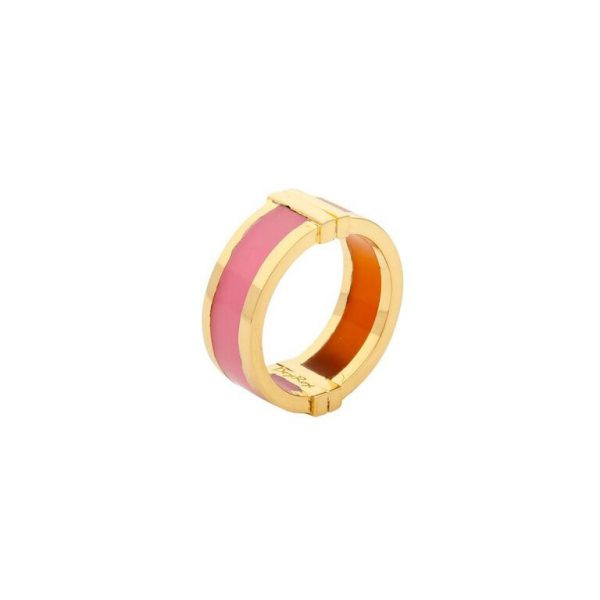 Celeste Ring in Pink & Orange by Bex Rox