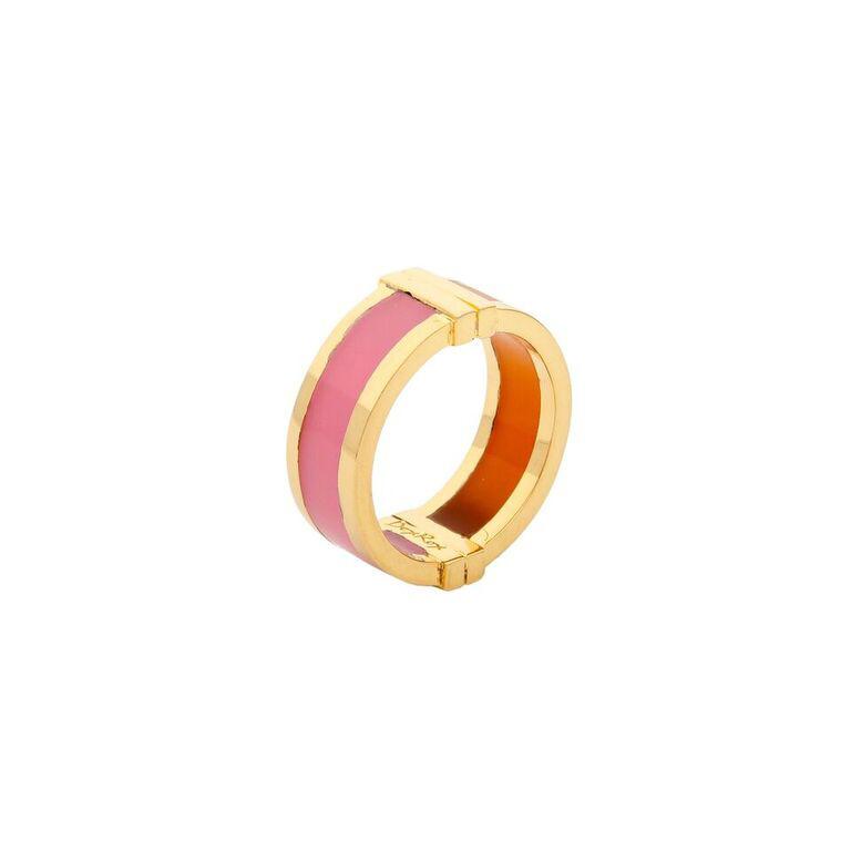 Celeste Ring in Pink & Orange