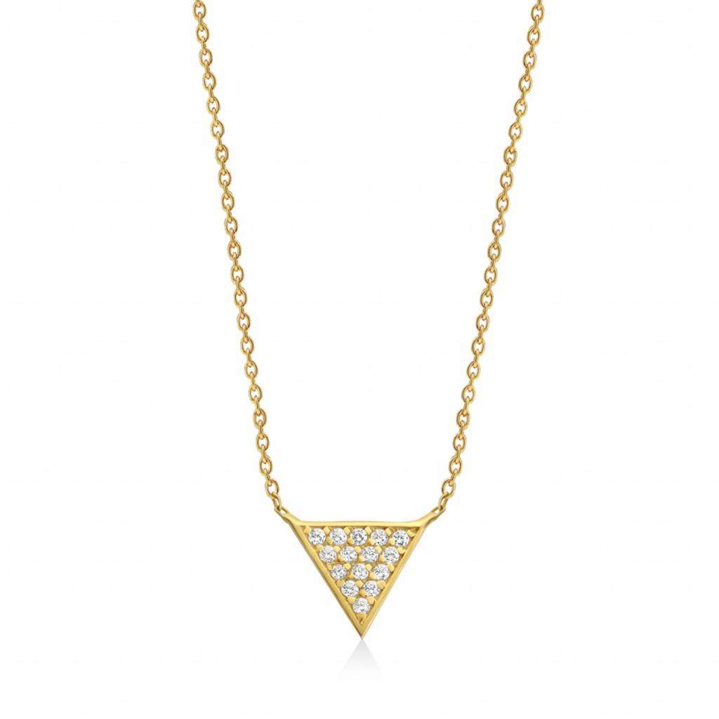 Mara Diamond Necklace by GFG Jewellery