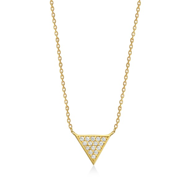 Mara Diamond Necklace by GFG Jewellery
