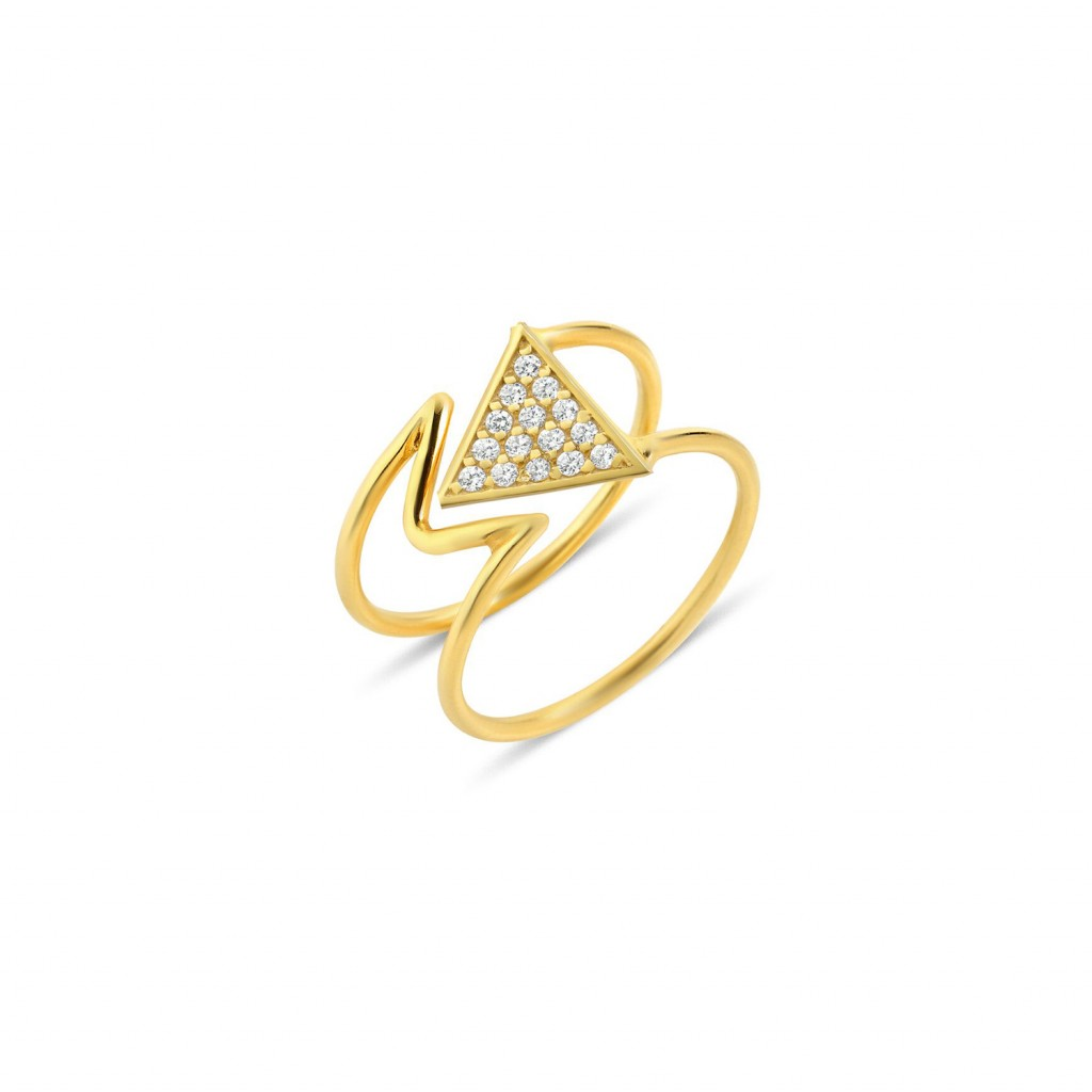 Mara Diamond Ring by GFG Jewellery