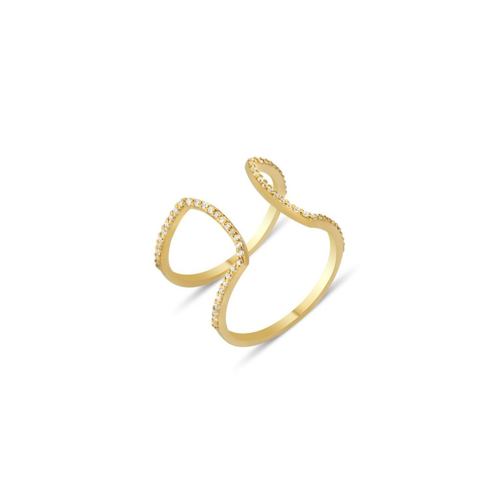 Seraphina Wings Ring by GFG Jewellery