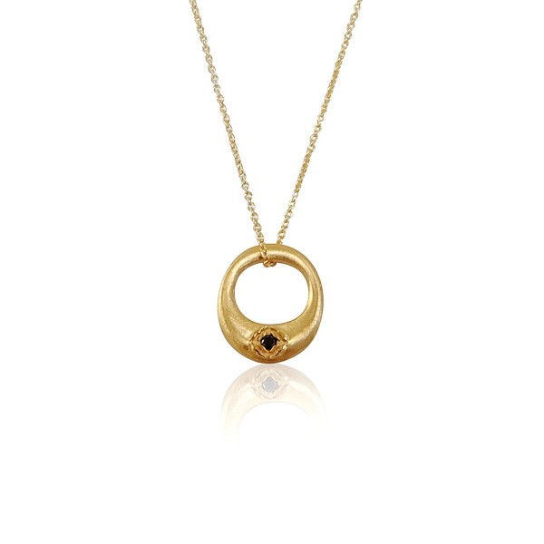 Ebon Zen Cercle Necklace