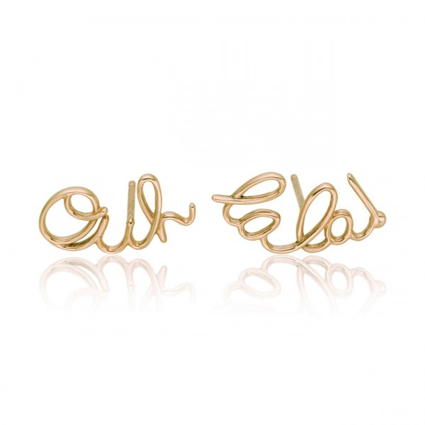 Ouh La La Earrings by Lily Gabriella