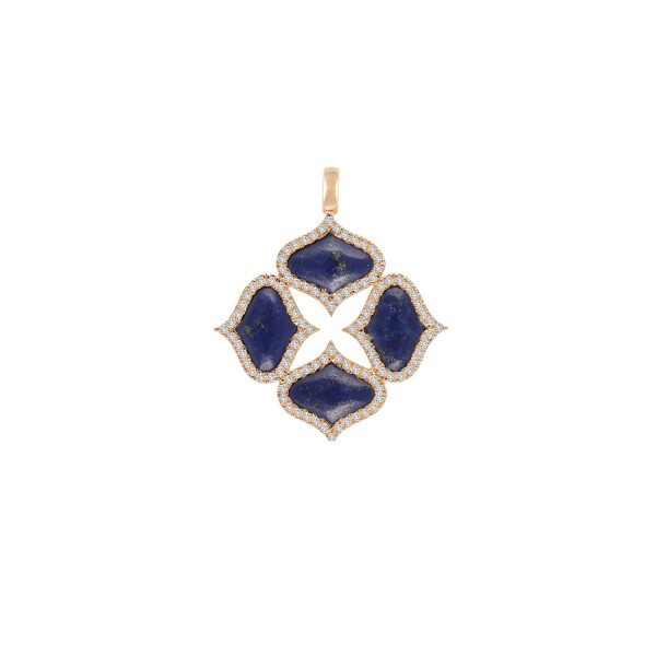 Lapis Pendant (without chain) by Gyan Jewels