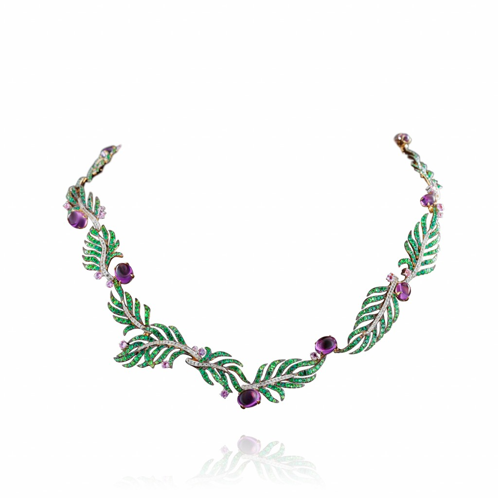 Palm Statement Necklace