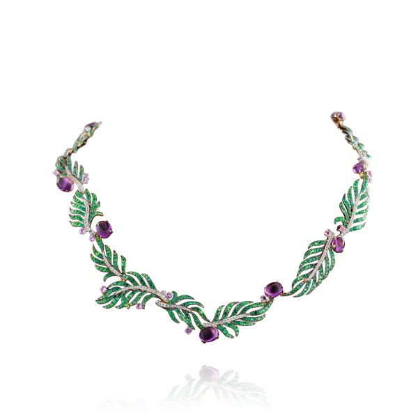 Palm Statement Necklace by Deema