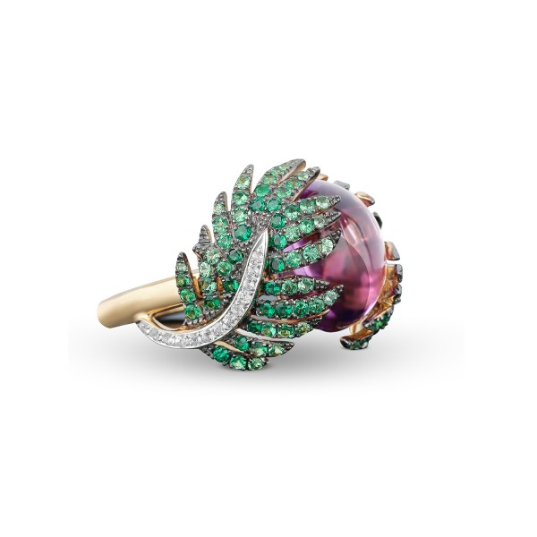 Palm Statement Ring by Deema