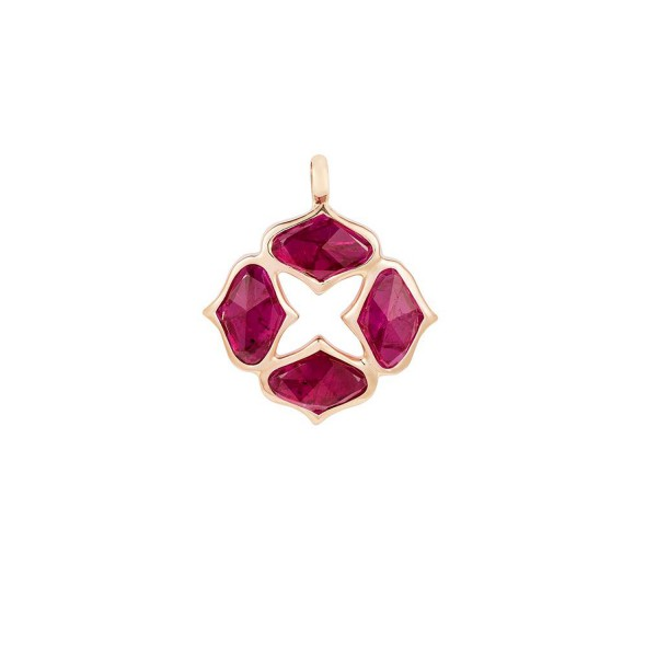 Ruby Pendant (Without Chain) by Gyan Jewels