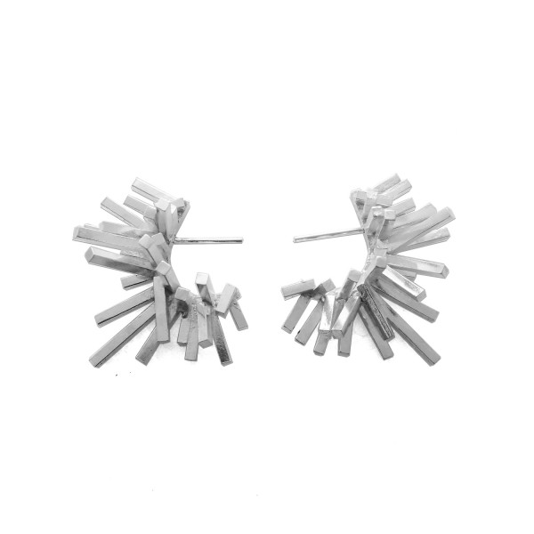 Blast Hoop Earrings by Harriet Morris