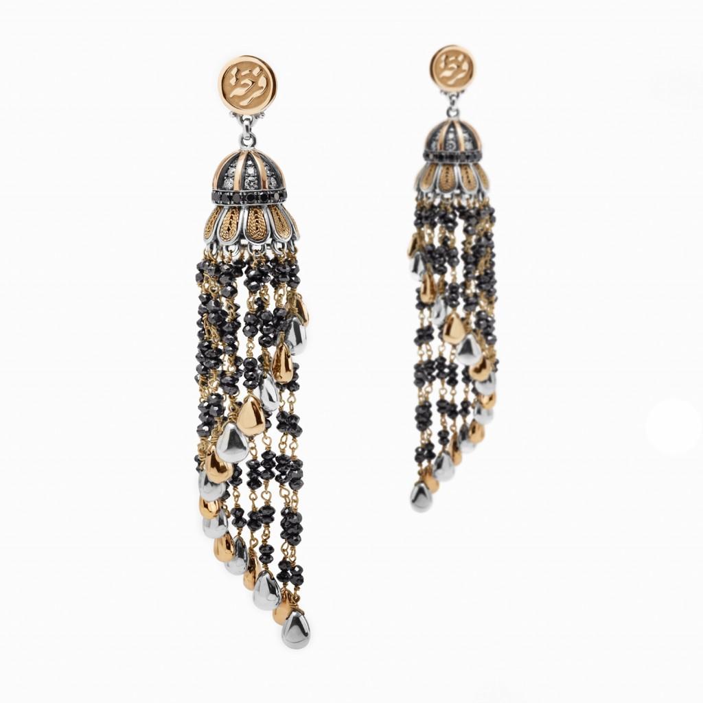 Tassel Earrings by Azza Fahmy