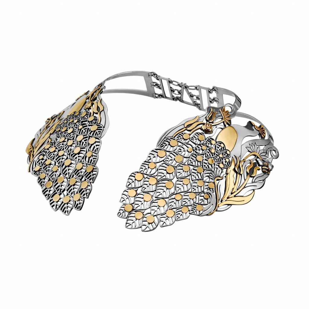 The Peacock Collar by Azza Fahmy