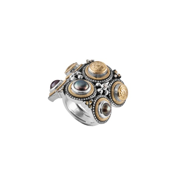 Tribal Ring by Azza Fahmy