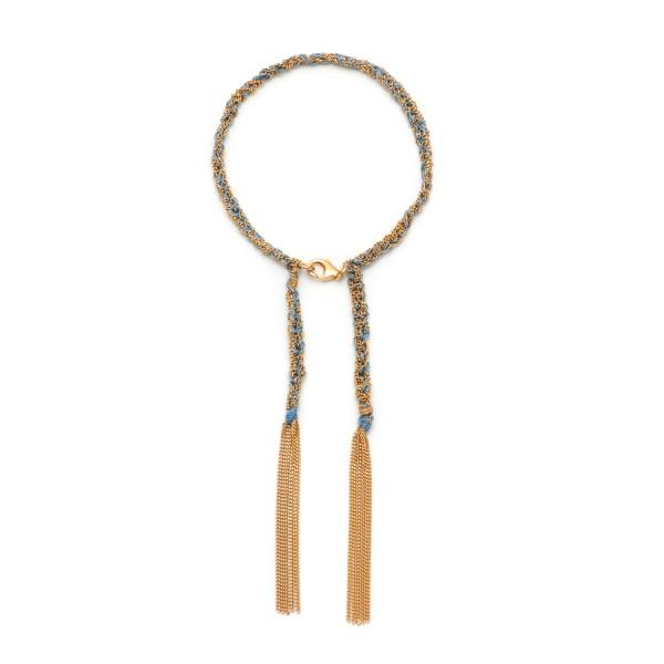 Panama Bracelet in Blue