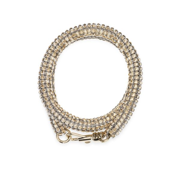 Skinny Double Bolster Bracelet by Atelier Swarovski