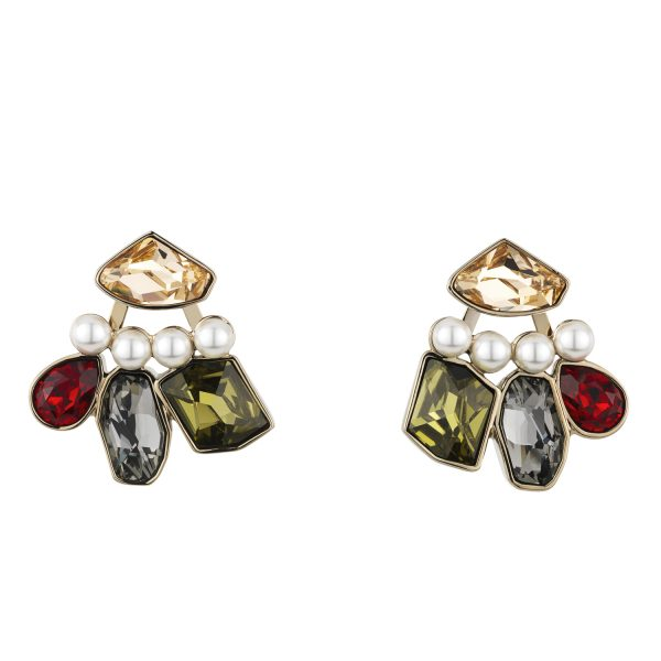 Mosaic Earring Jackets by Atelier Swarovski
