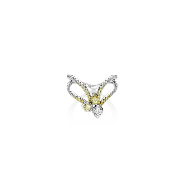 Astraeus Accent Star Ring by Raliegh Goss