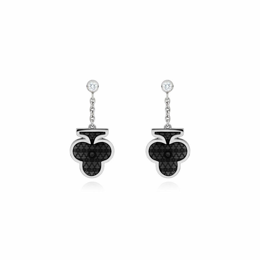 Club Earrings by Raliegh Goss
