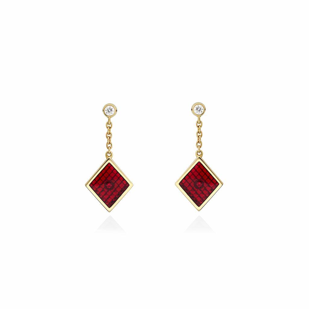 Diamond Earrings by Raliegh Goss