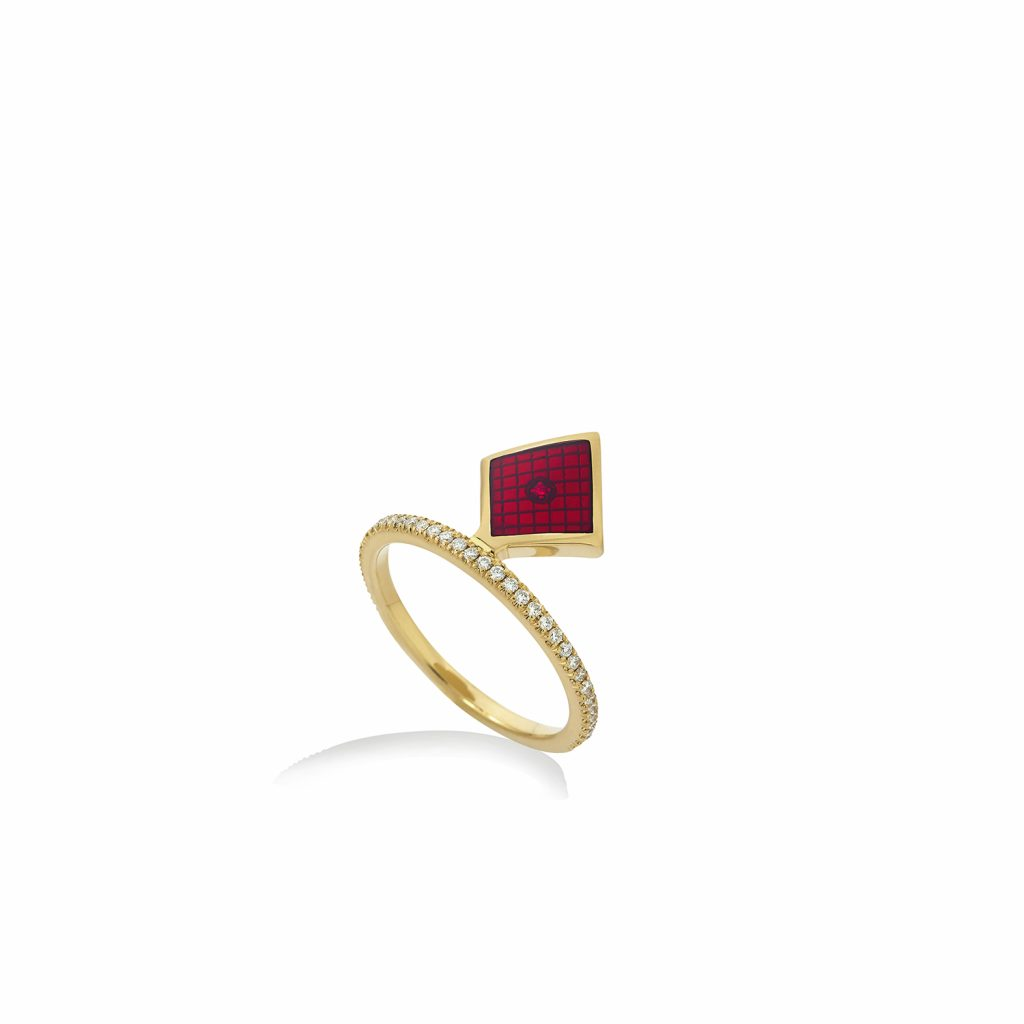Diamond Ring by Raliegh Goss