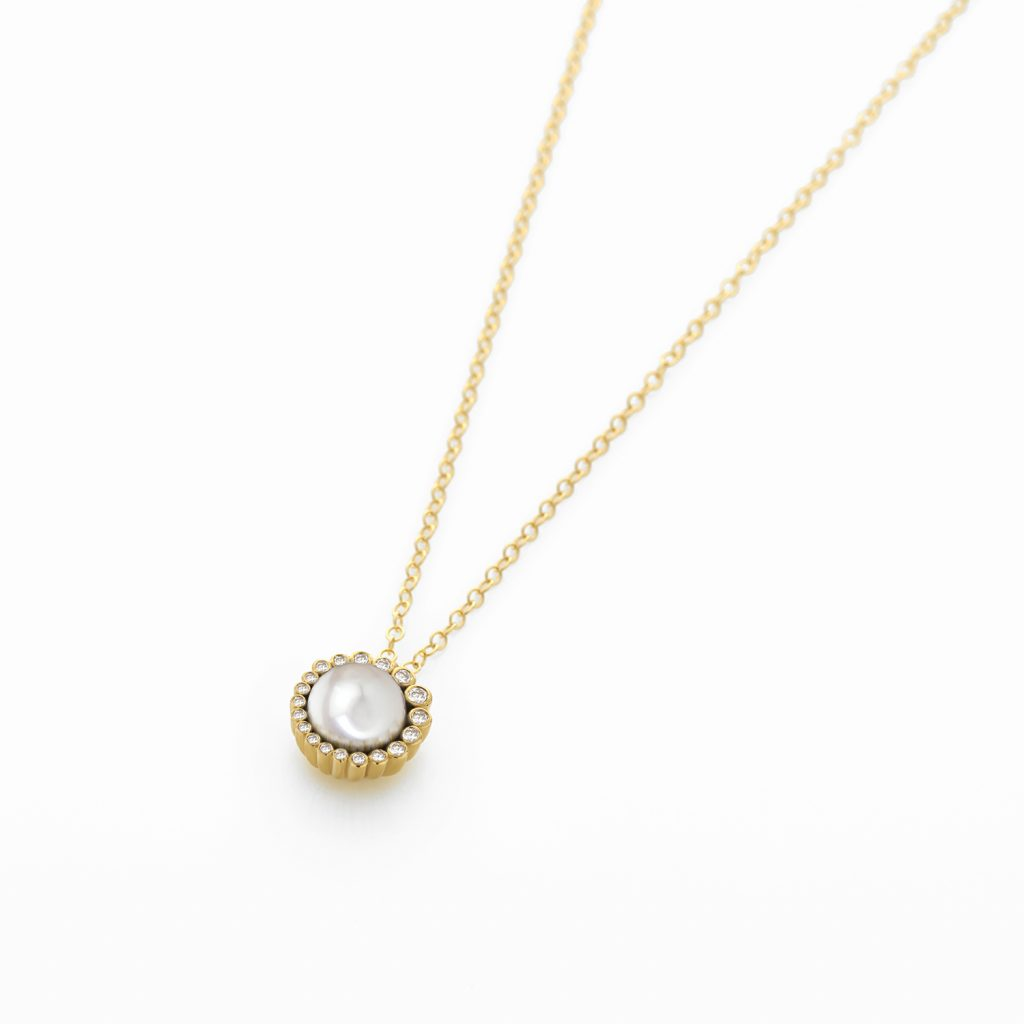 Aditi Pearl Pendant by Flora Bhattachary