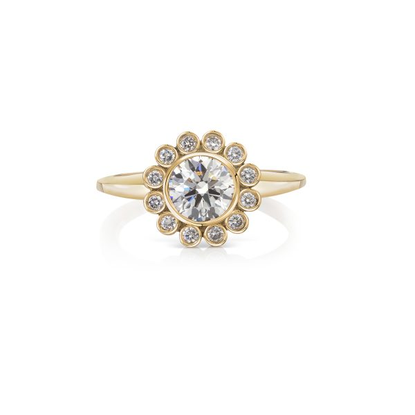 Aditi White Diamond Ring