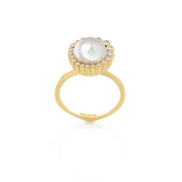 Aditi Pearl Ring