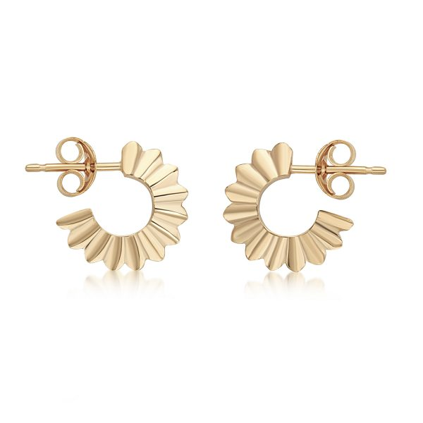 Aditi Pankhuri Hoop Earrings by Flora Bhattachary