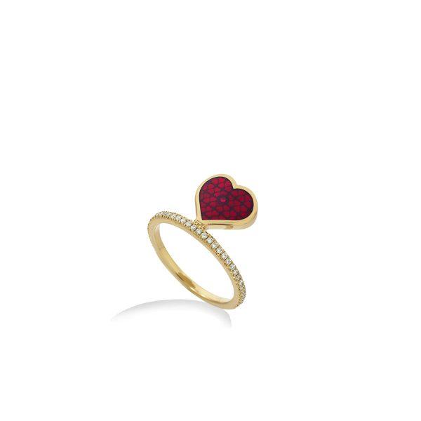Heart Ring by Raliegh Goss